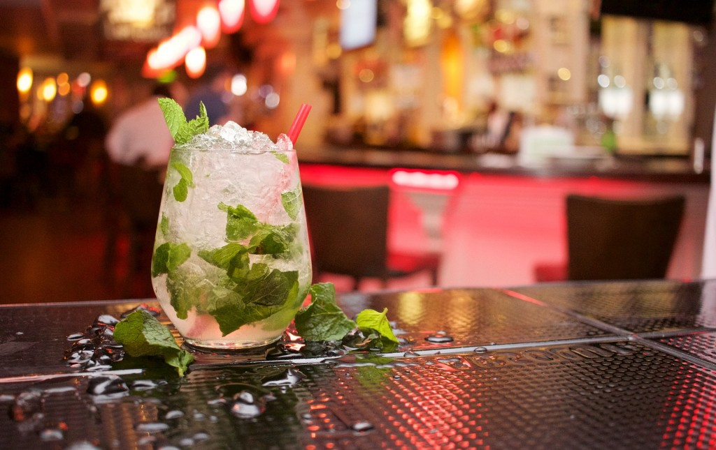 Mojitos and margaritas are made with fresh ingredients at Yuca.